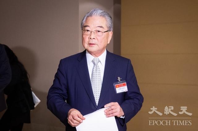三三會理事長許勝雄16日表示,如果政府在稅費方面能有一些改變,對企業的經營當然會有更大助力。(記者陳柏州/攝影)