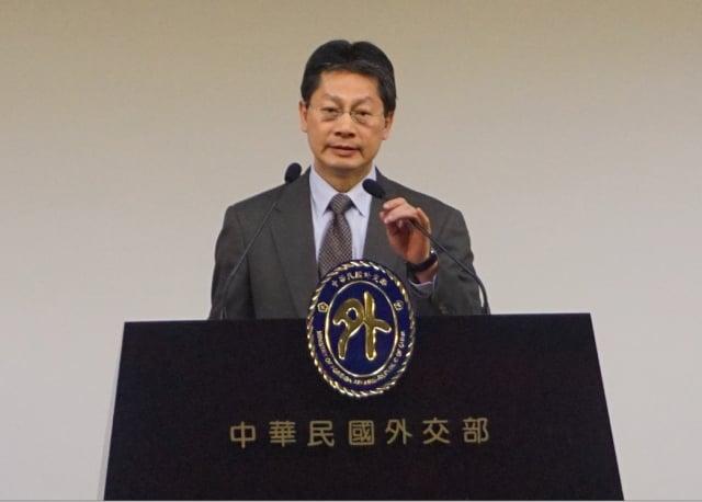 陸方點名66家外企使用台灣名稱不當,要中共當局予以懲處,對此,外交部17日予以強烈譴責。(記者李怡欣/攝影)