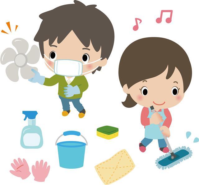 從小到大我們家大掃除都是全家出動,由父親事前分配好區域與工作,然後大家一起完成。(Fotolia)