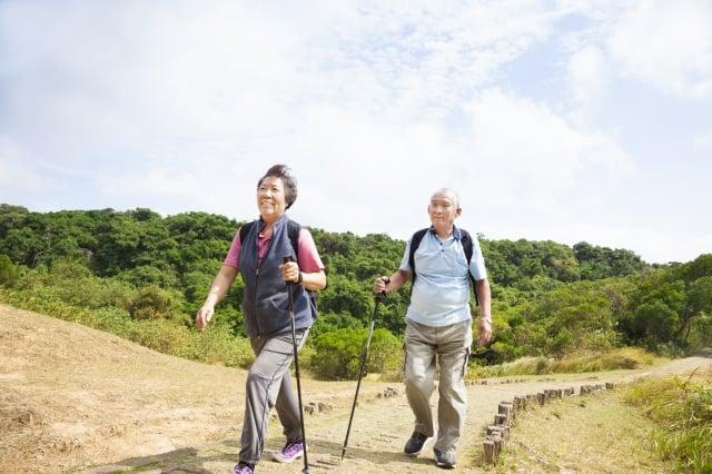 有計畫出門走春的民眾,則可以選擇登山健走或騎腳踏車等行程,過一個健康的新年。(Fotolia)