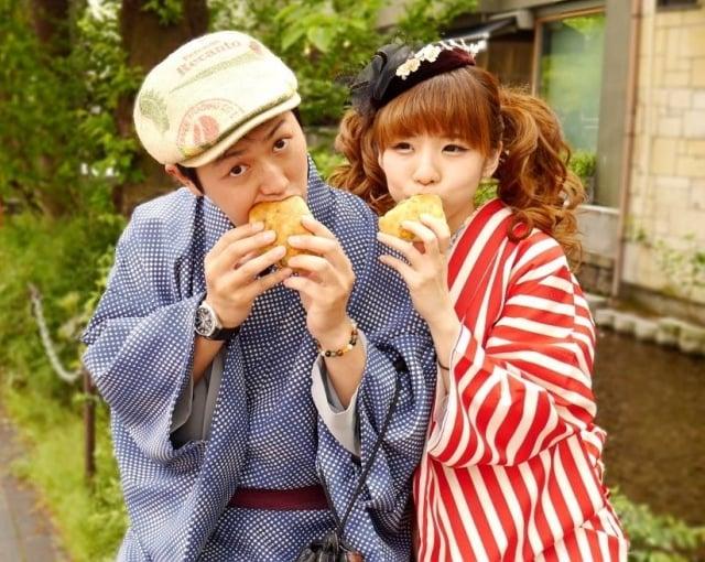 上田太太與先生阿桃都熱愛美食旅遊,日本政府委託上田太太以台灣人的角度介紹日本。