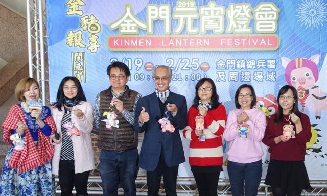 「2019金門元宵燈會」展期自2月19日起至25日止。(記者簡源良/攝影)