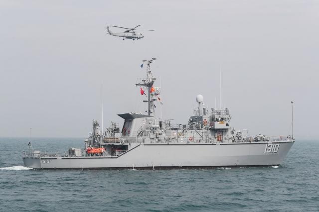 對於海軍籌建獵雷艦卻以失敗收場,監察院21日通過調查報告,糾正國防部、金管會及農委會漁業署。圖為我國海軍獵雷艦。(中央社資料照)