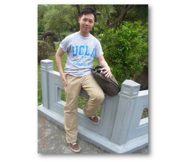 歐醫盟最年輕執行長、十傑青年得主陳志瑜是國內罕見、或唯一獲取英、美、日、韓四國獎學金,擁有四國臨床經驗醫師。在美國求學照片