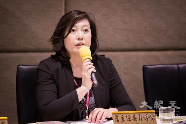 針對中國影音平台(OTT)騰訊視訊、優酷、土豆等將循愛奇藝模式於今年來台落地,NCC主委詹婷怡表示,有人認為內容產製會影響思維,是國安問題,將請國安單位、陸委會開會決定政策走向。(記者陳柏州/攝影)