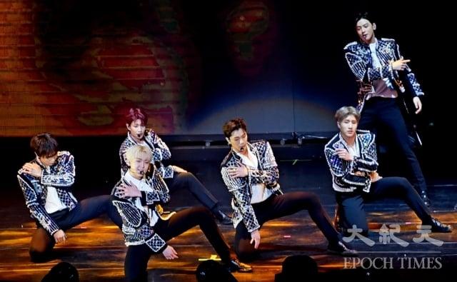 韓團ASTRO海外演唱會首場獻給台灣歌迷(記者黃宗茂/攝影)