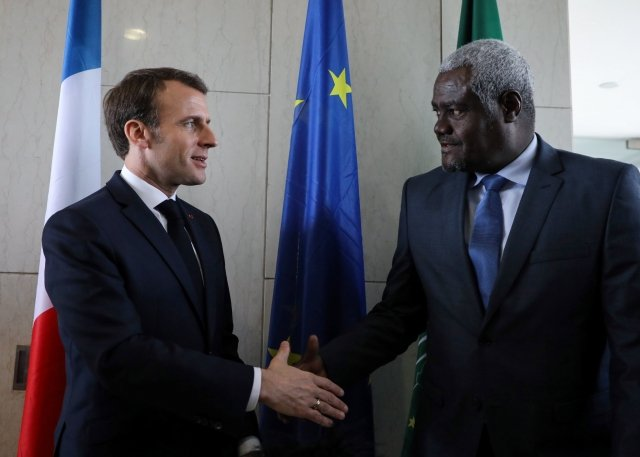 削弱中共影響力 馬克宏完成非洲訪問