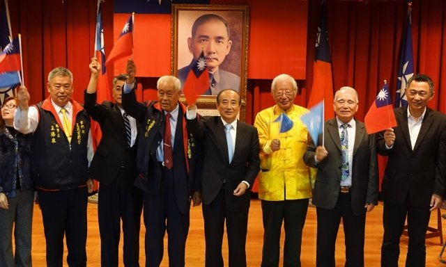「王金平參選2020總統金門後援會」3月20日正式成立。(記者簡源良/攝影)