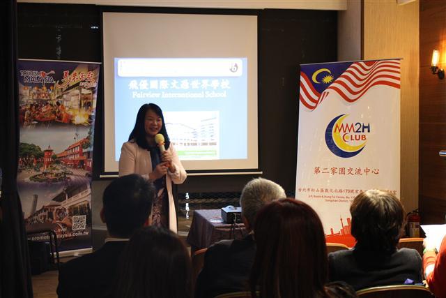 馬來西亞飛優國際學校校長分享。(馬來西亞旅遊資訊提供)