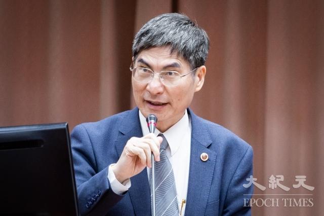 科技部長陳良基表示,網路攻擊行為都在掌控中,沒有智慧財產權、技術被竊狀況。(記者陳柏州/攝影)