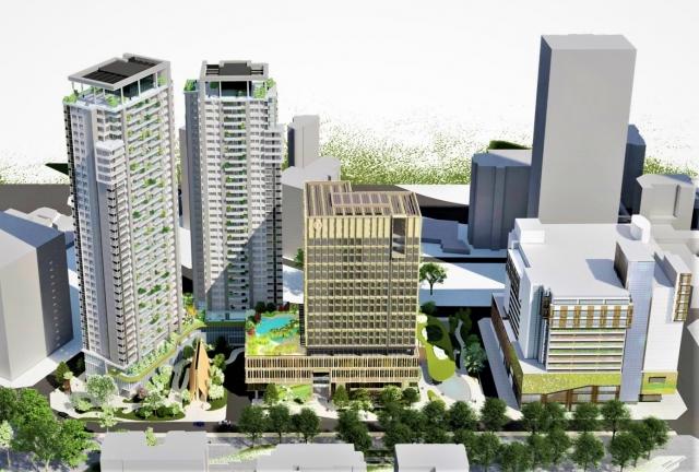 勤美集團日前再宣布斥資120億元開發「勤美之森」。(台中市政府提供)