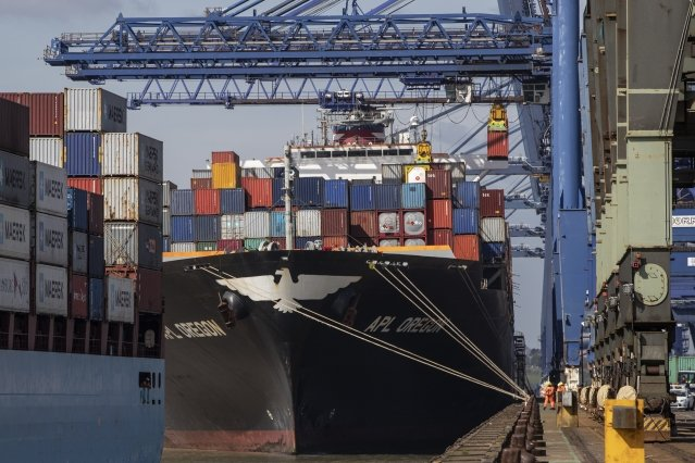 世界貿易組織(WTO)大幅下修今年全球貿易成長率預測。圖為示意照。(Getty Images)