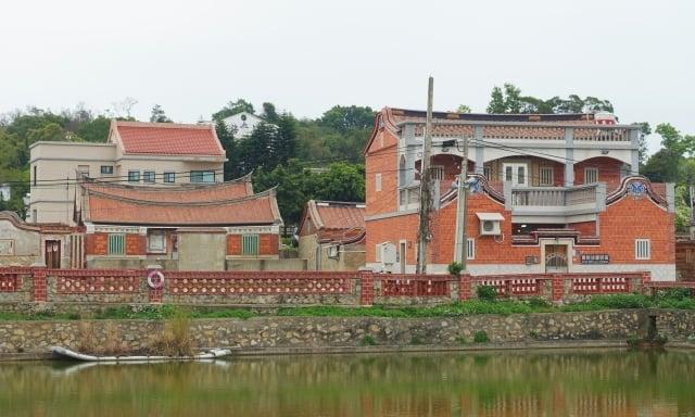 金門有多處歷史建築聚落。圖為歐厝一景。