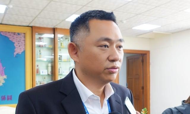 對於「是否徵召高雄市長韓國瑜參選總統」一事,金門縣長楊鎮浯表示,黨中央應先表態。