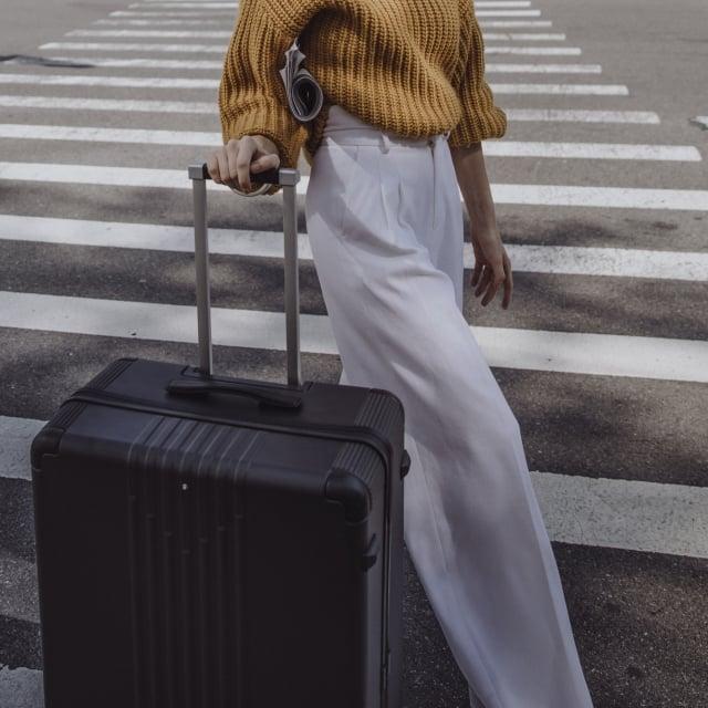 行李箱能滿足熱愛自由的媽咪四處旅行所需。