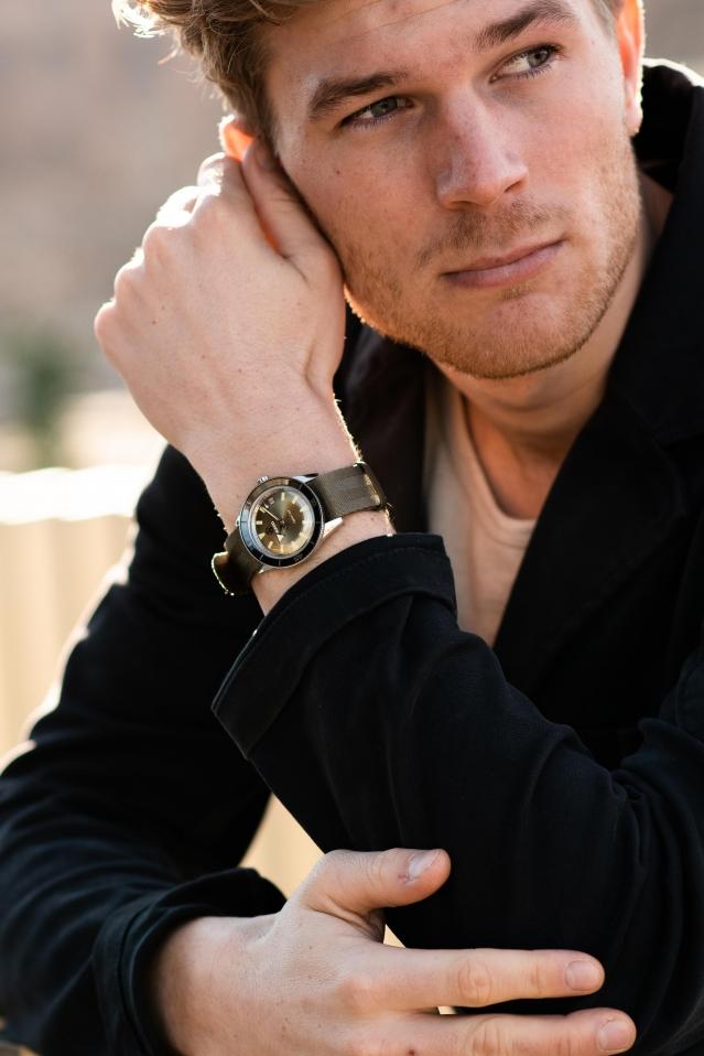 Rado 瑞士雷達表推出Captain Cook庫克船長復刻錶款。(品牌提供)
