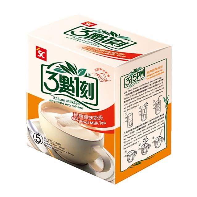 韓國遊客熱愛沖泡式奶茶,小包裝方便攜帶、與同事分享。