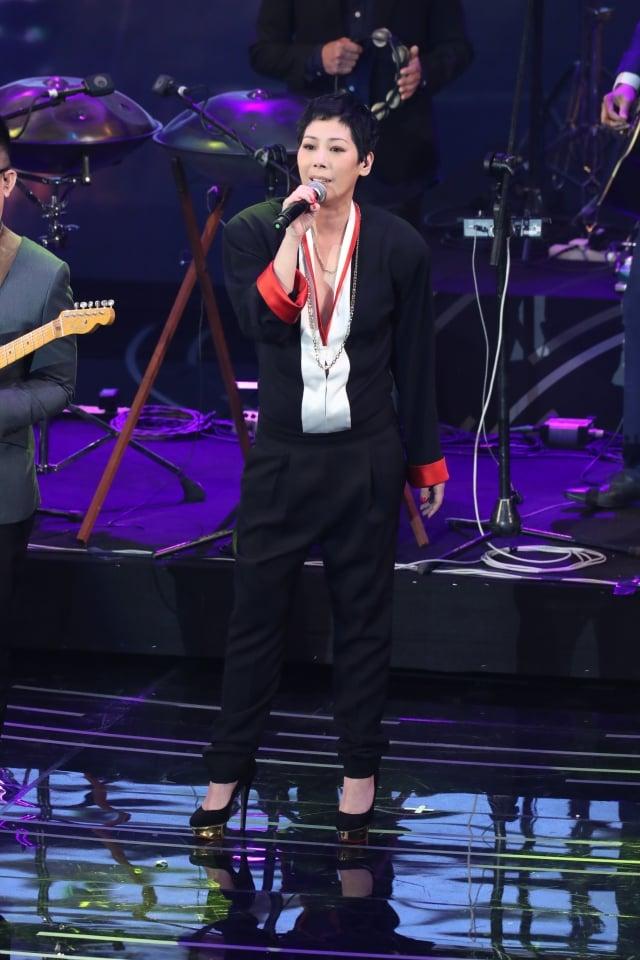 香港歌手關淑怡,圖為資料照。(大紀元資料室)