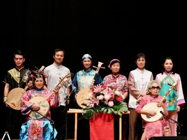 「楊秀卿說唱藝術團」今年年度大戲《青竹絲奇案》。(屏東縣府文化處提供)