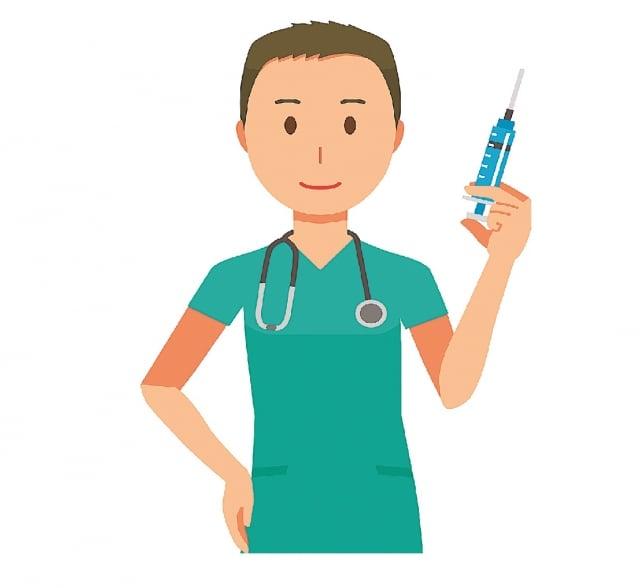 實務上「男」丁格爾在護理照護專業與品質,其實與女性護理師一樣棒,期望未來可有更多「男」丁格爾加入專業護理行列。(123RF)