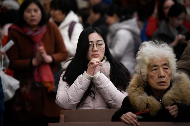 據河南省政府的一份祕密文件裡披露,當局正在搜集當地信仰宗教人員的資訊。(Getty Images)