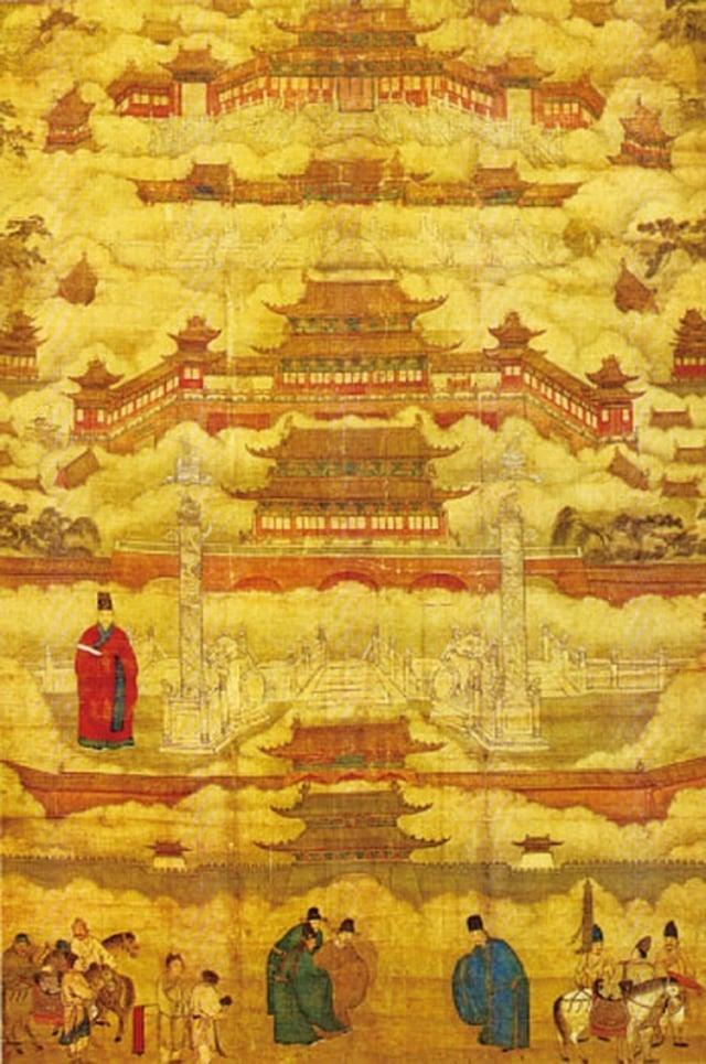 明朝中期所繪的〈帝都圖卷〉。(維基百科)