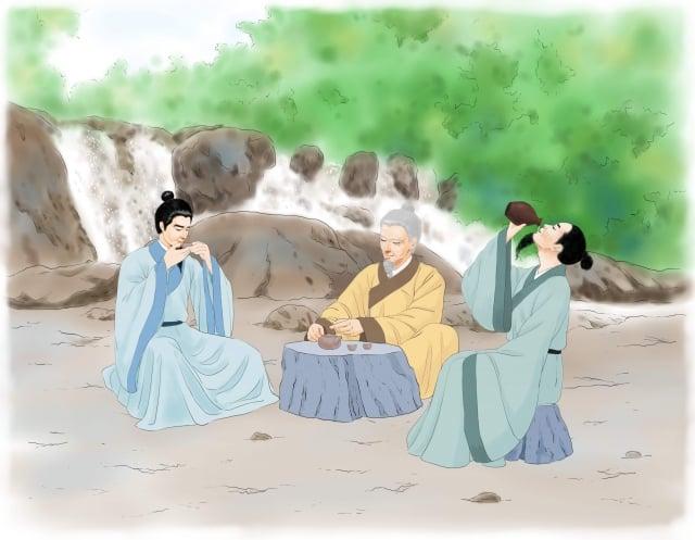 「午時水」必須是出自天然水源的山泉、井水,而且是沒有汙染的水,特別甘醇、經久耐放,用來泡茶特別好喝、助益身體的保健。(圖/志清)