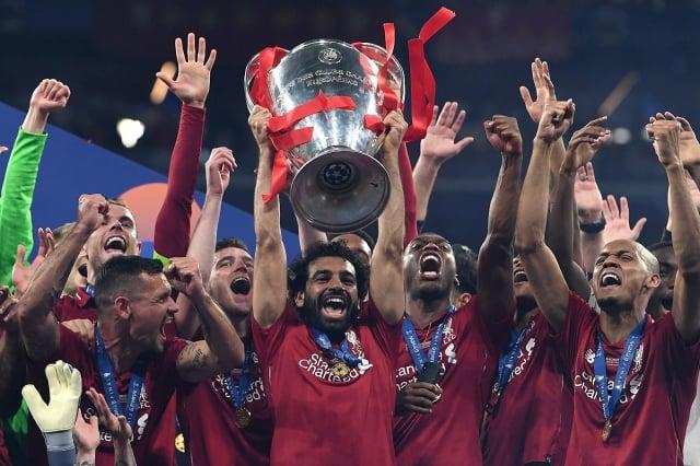 利物浦以2:0擊敗熱刺,時隔14年後再次奪得歐冠決賽獎盃。(Getty Images)