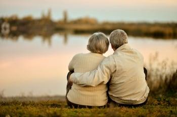 一对老夫妻 白头偕老的祕密