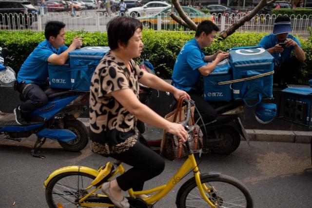 中國共享單車再爆計費亂象,未開鎖便開始計費,還能飄洋過海騎到非洲。圖非當事車輛。(Getty Images)