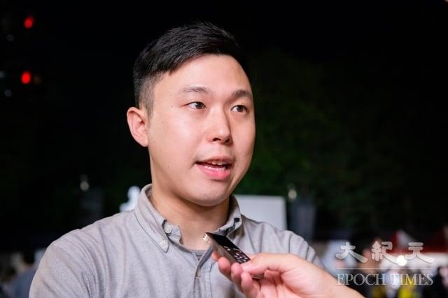 民進黨發言人李問表示,必須讓中共知道,對人權的迫害必須付出代價,對其所做所為負責任。(記者陳柏州/攝影)