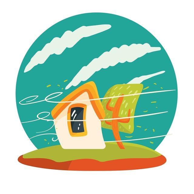 世界的潮流就像颱風,要往哪裡去沒有人知曉。(123RF)