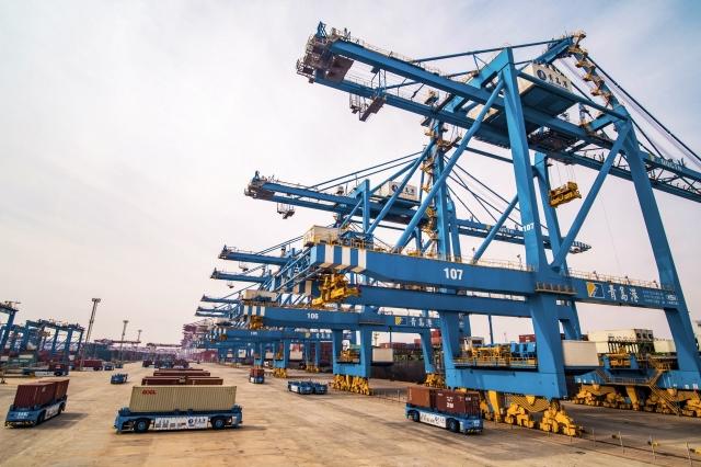 美國對幾家出口公司罰款,因為這些公司通過一個中國在柬埔寨的經濟特區出口商品,以規避美國政府對中國商品的關稅。(STR/AFP/Getty Images)