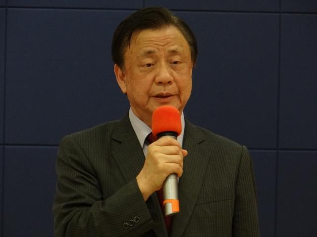 台灣自殺防治學會理事長李明濱。(記者袁世鋼/攝影)