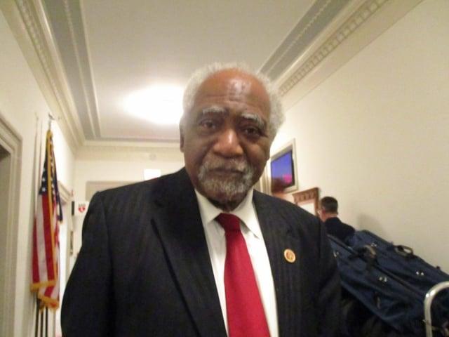 國會議員戴維斯(Danny Davis)。(記者李辰/攝影)