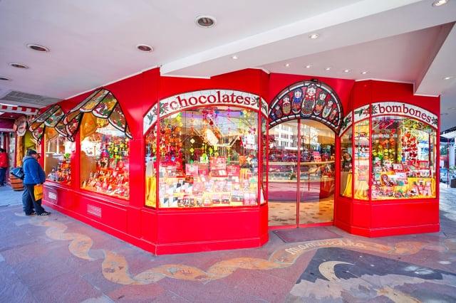 巴里洛切的巧克力店。(shutterstock)