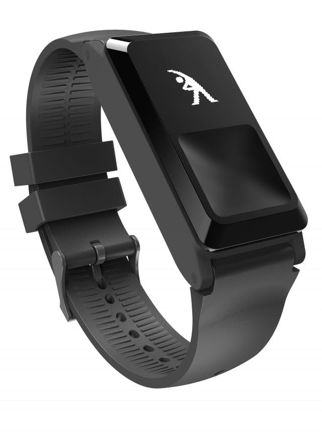 麗臺科技研發出「amor H2健康手環」,今年獲得台灣精品獎。(業者提供)