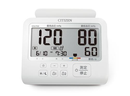 CHU703可以兩人共用,晨間、夜間測量值可以分開記錄。(業者提供)