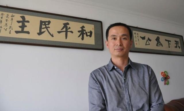 中國人權律師謝燕益。(大紀元)