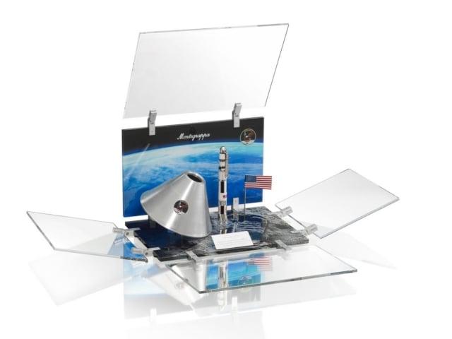 限量版特殊筆盒以太空箱為創意設計。(品牌提供)