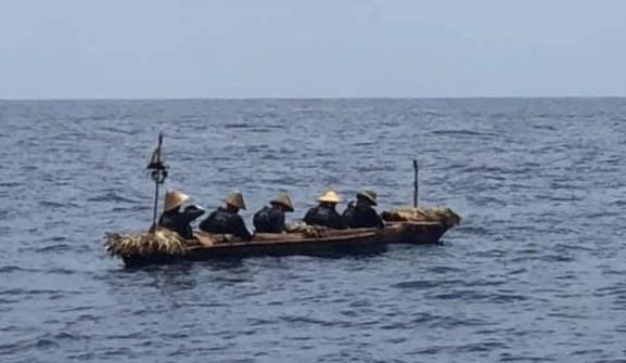 划手們在海上靠著太陽、星象、洋流辨別方位,航行中曾幾度迷航。