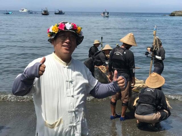 史前館副研究員林志興說,復現3萬年前人類的實驗航海,展現古今一樣的探索精神。