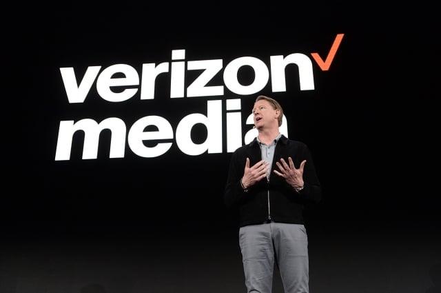 威瑞森執行長衛翰思(圖)7月11日表示,公司不用華為設備,也不擔心美中貿易戰對公司會有影響。(Noam Galai/Getty Images for Verizon Media)