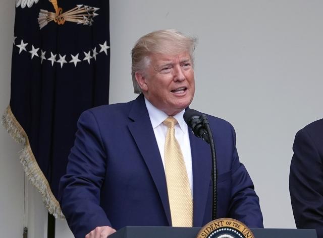 美國總統川普7月11日下令,要求聯邦政府部門提交美國公民和非公民人數。(記者亦平/攝影)