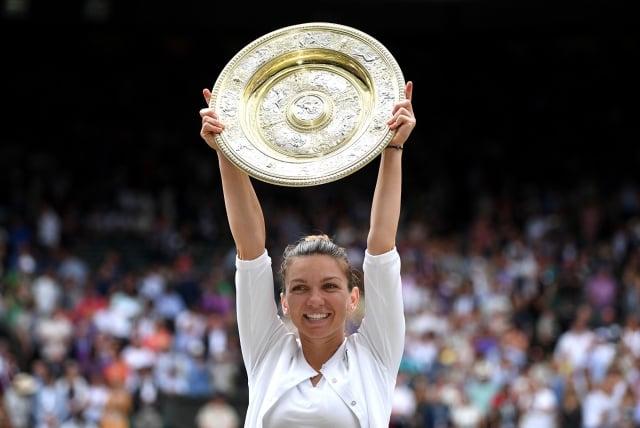 哈勒普奪得2019溫網女單冠軍。(Getty Images)