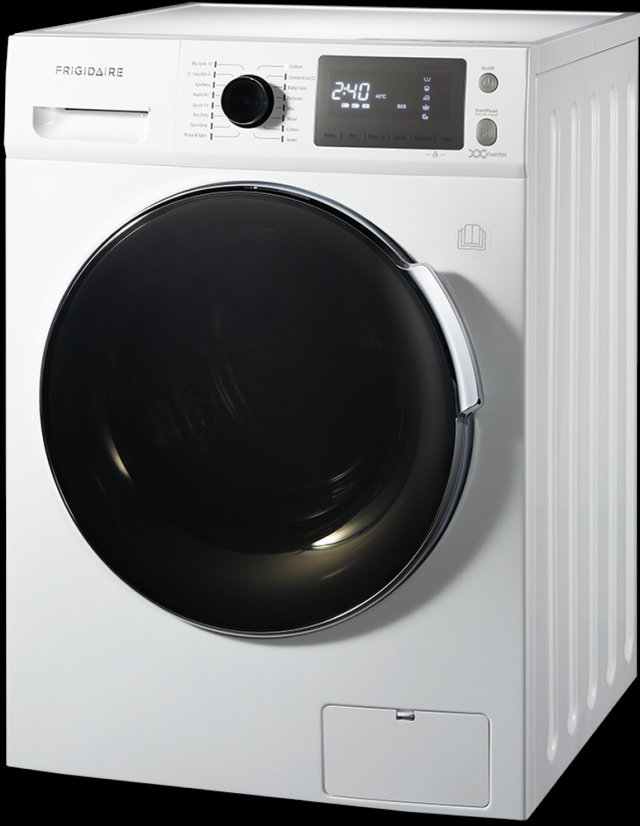 家中購買洗脫烘洗衣機,不僅省時又省電,相當便利。(美第提供)