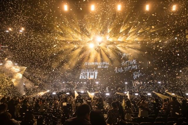羅大佑澳門站演唱會與歌迷共慶65歲生日(種子音樂提供)