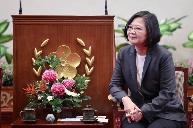 總統蔡英文表示,現在投資台灣是最好時機。(中央社)