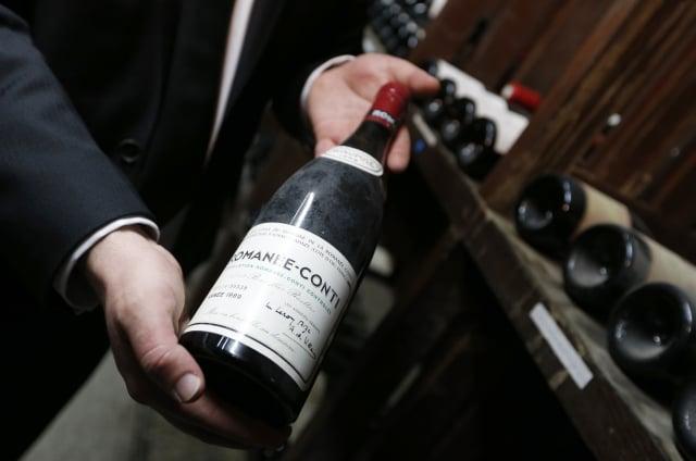 美酒需要時間熟成,圖為法國勃艮第葡萄酒莊園產的葡萄酒。(Getty Images)