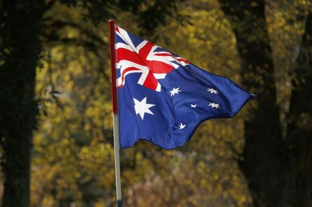 澳洲人口約2,500萬,每月就有1,700萬人上臉書。圖為澳洲國旗。(Darrian Traynor/Getty Images)